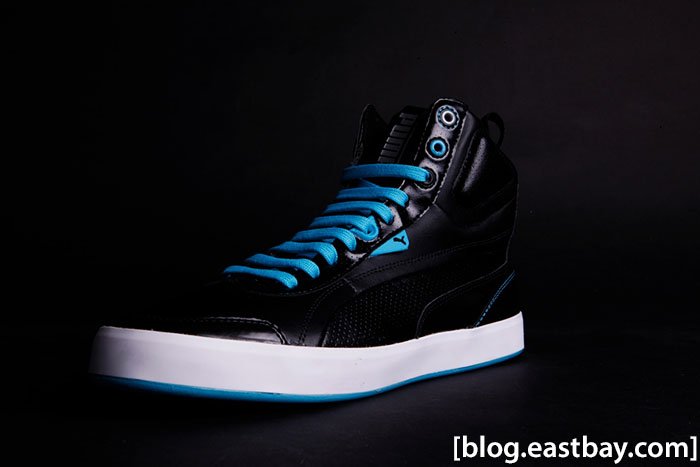 PUMA Suburb Black Blue