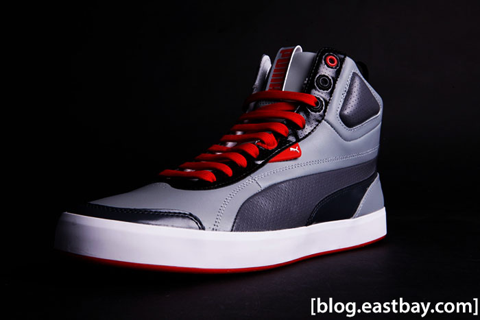 PUMA Suburb Grey Red