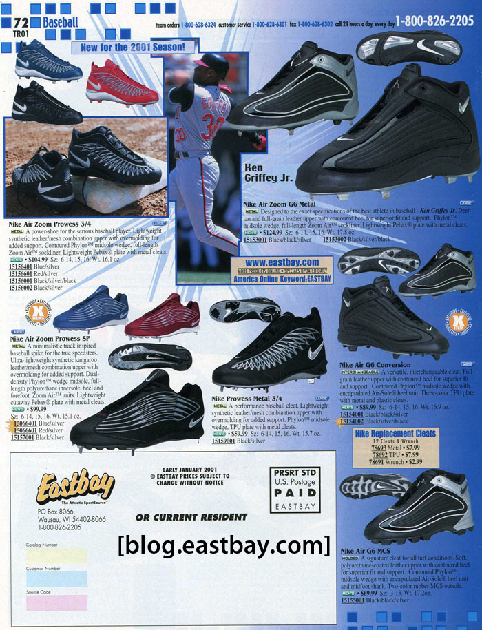 Eastbay Memory Lane  Nike Baseball 2001  67485ee2c