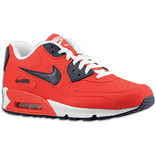Available: Nike Air Max 90 – Action Red/Obsidian