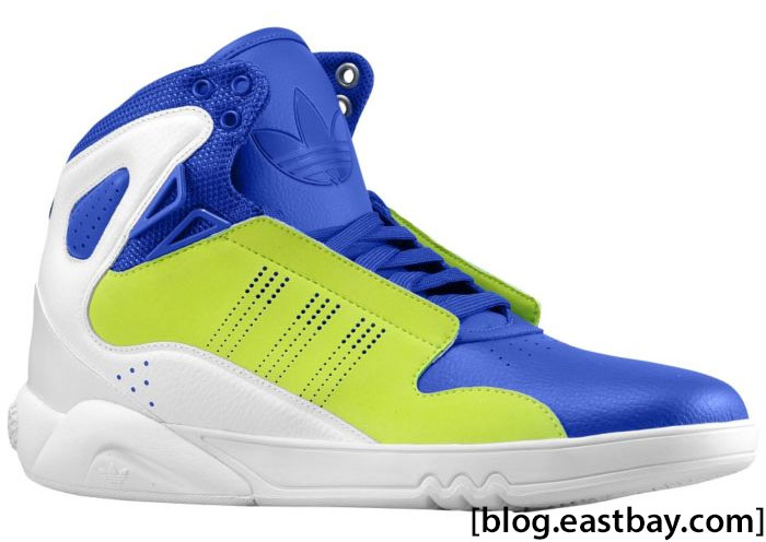 adidas Originals Roundhouse Mid 2.0 White Slime Collegiate Royal G56229