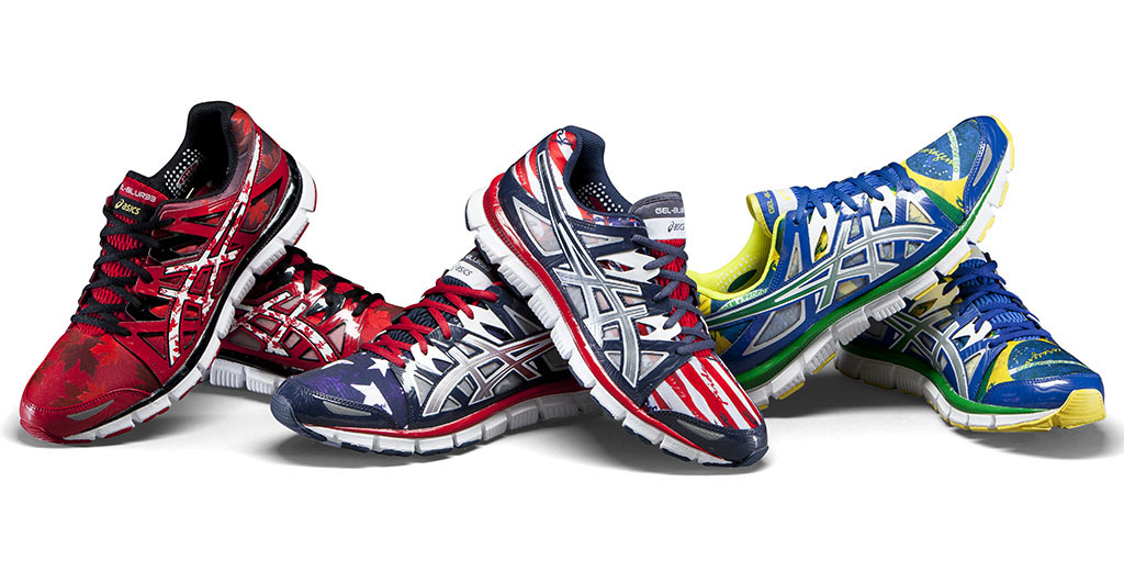 ASICS GEL Blur 33 2.0 Flag Collection Eastbay-bloggen  Eastbay Blog