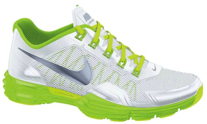 48ad8a4d76ae Available  Nike Lunar Trainer 1 – White Electric Green