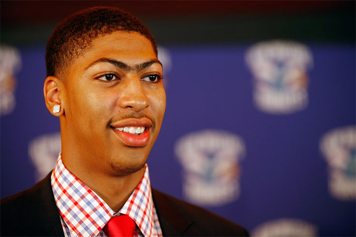 Nike Signs #1 Overall Pick Anthony Davis | Eastbay Blog