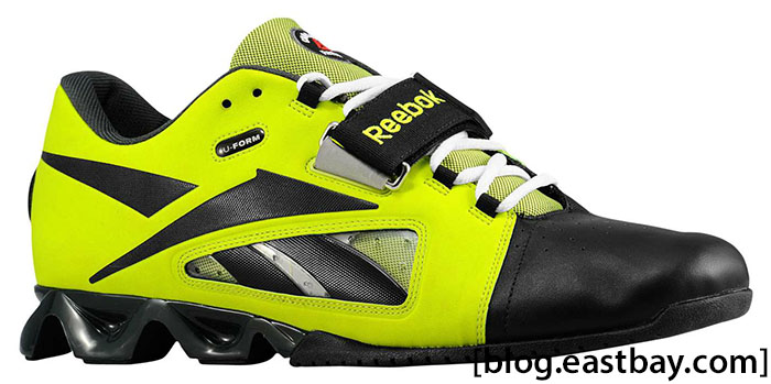 Reebok CrossFit Oly U-Form Charged Green Gravel White