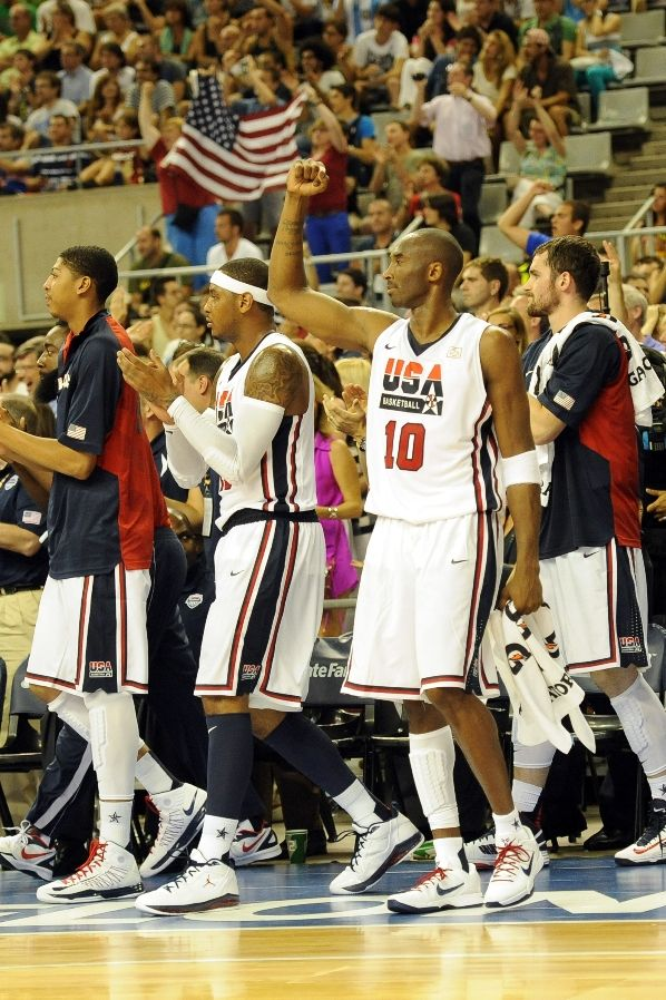 Team USA Celebrates Win Over Argentina