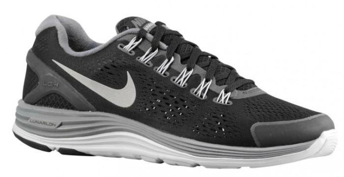 852762e58903 Available  Nike LunarGlide 4 – Black Wolf Grey