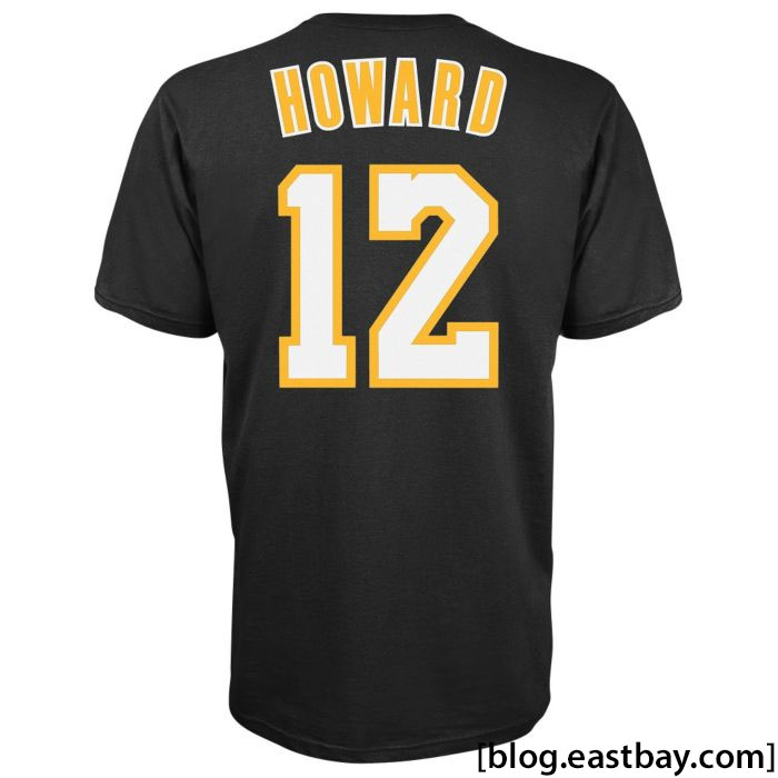 adidas Game Time T-Shirt Dwight Howard Lakers Black