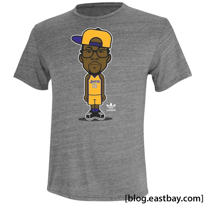 adidas NBA Geek Up T-Shirt Dwight Howard Lakers