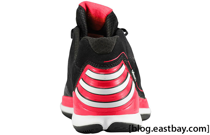 adidas Rose 2.5 Low Black White Light Scarlet G48767 (3)