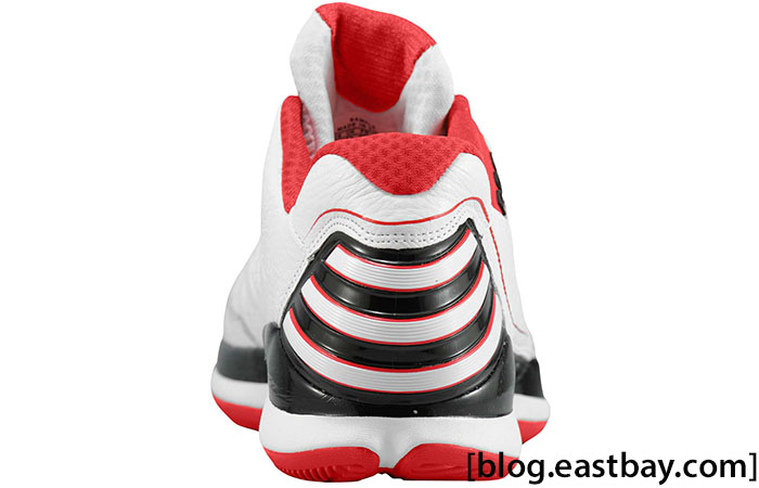 adidas adiZero Rose 2.5 Low White Light Scarlet G56190 (3)