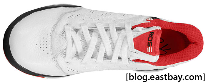 adidas adiZero Rose 2.5 Low White Light Scarlet G56190 (4)