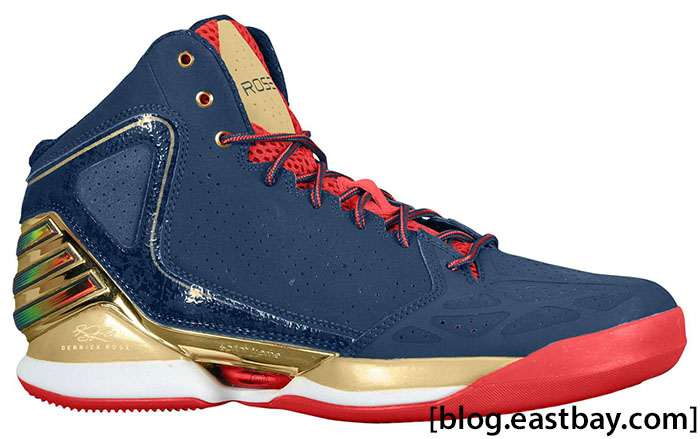 adidas Rose 773 Gold Medal Collegiate Navy Metallic Gold Light Scarlet G59191 (1)