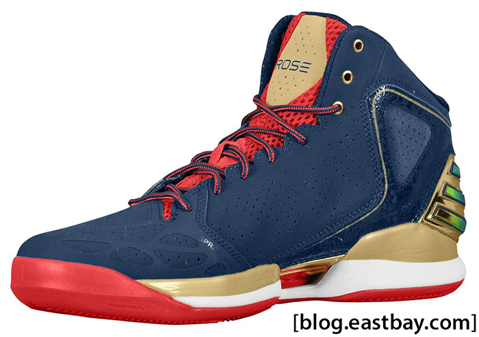 adidas Rose 773 Gold Medal Collegiate Navy Metallic Gold Light Scarlet G59191 (2)