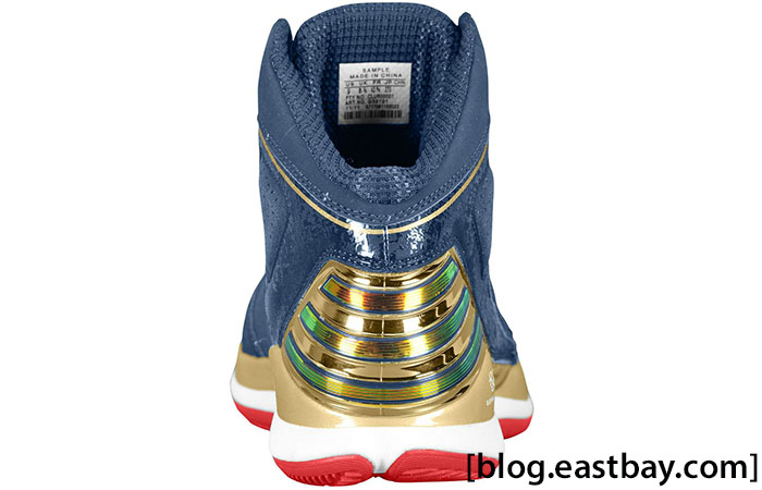 adidas Rose 773 Gold Medal Collegiate Navy Metallic Gold Light Scarlet G59191 (3)