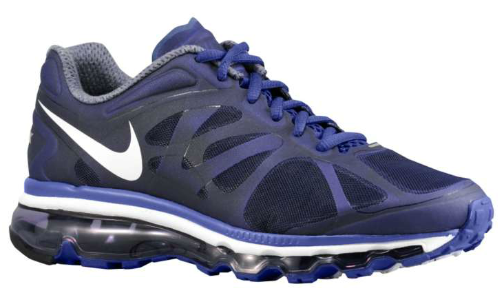 nike wmns air max 2012 night bluecool grey sole collector