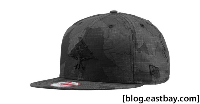 LRG Core Collection NE Camo Tree Cap Black Camo