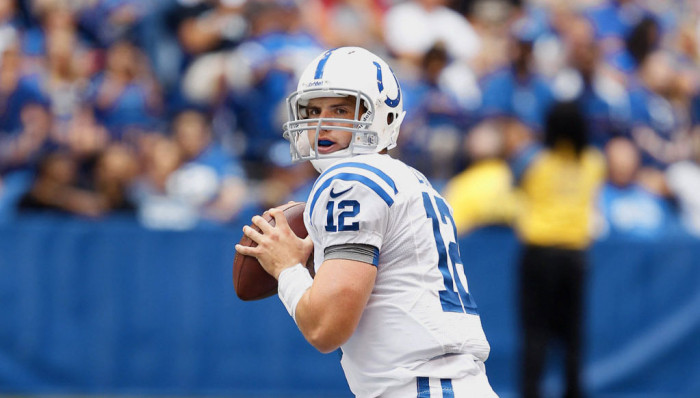 NFL Watch // Andrew Luck Shines in Colts Debut