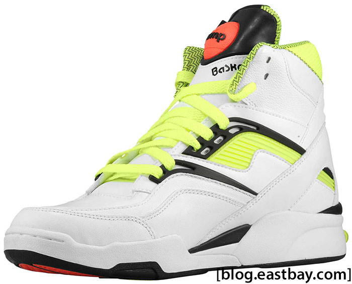 Reebok Twilight Zone Pump White Black Neon J10323 (2)