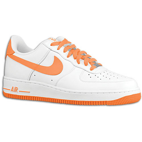nike air force 1 low white total orange eastbay blog. Black Bedroom Furniture Sets. Home Design Ideas