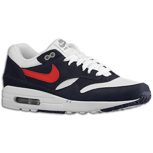 nike air max 1 blue red and white .