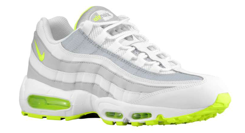 a41d8f3dcc Nike Air Max 95 - White/Volt-Wolf Grey | Eastbay Blog : Eastbay Blog