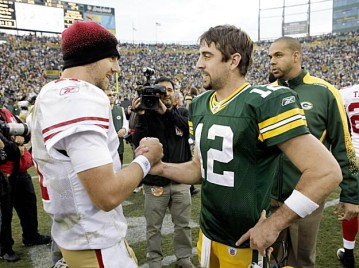 Alex Smith vs. Aaron Rodgers