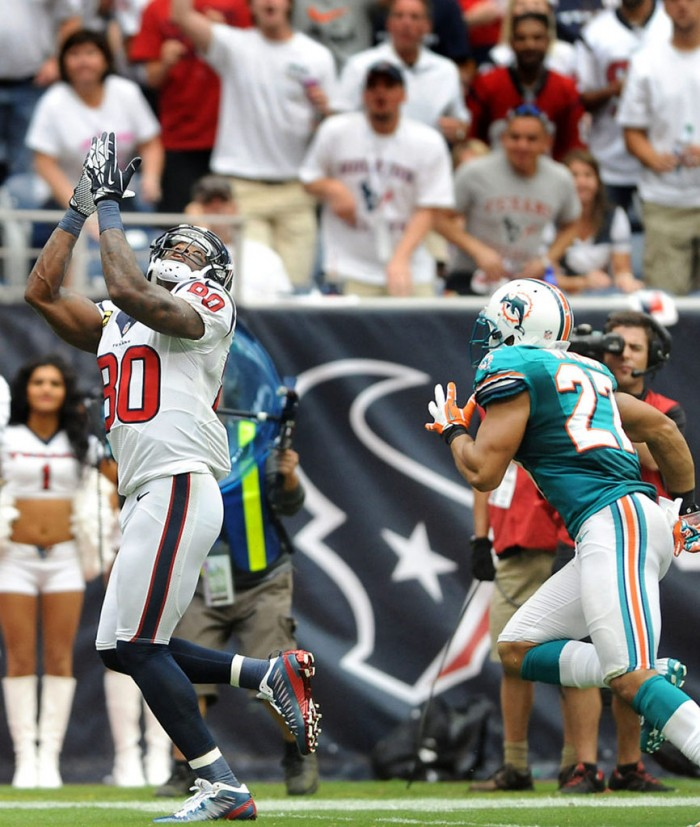 Andre Johnson wearing Jordan Super.Fly PE