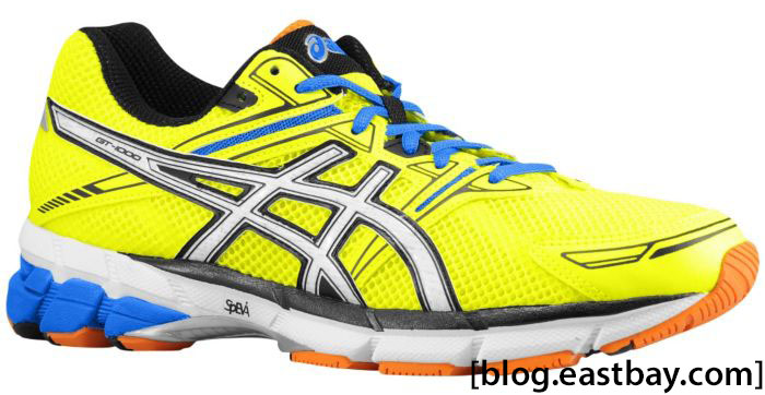 ASICS GT-1000 Men's Highlighter Yellow White Blue (1)