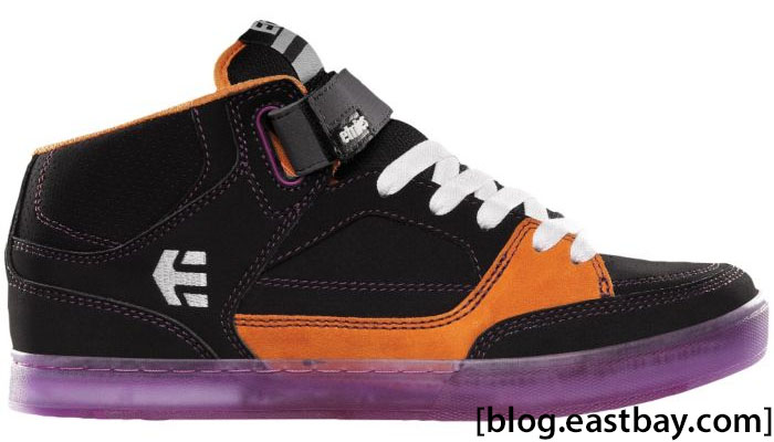 etnies Number Mid Black Purple