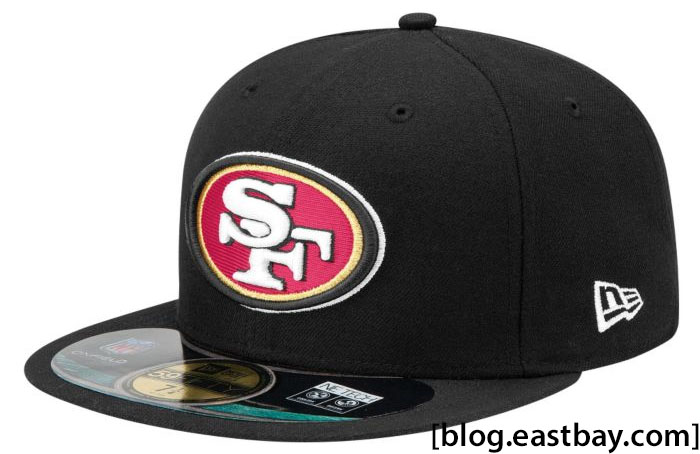 New Era NFL 59FIFTY Sideline Cap San Francisco 49ers Black