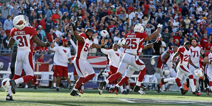 NFL Watch // Cardinals Shock Patriots in Foxborough