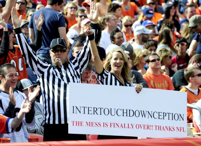 Fans Love the Refs // Denver Broncos