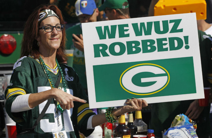 Fans Love the Refs // Green Bay Packers