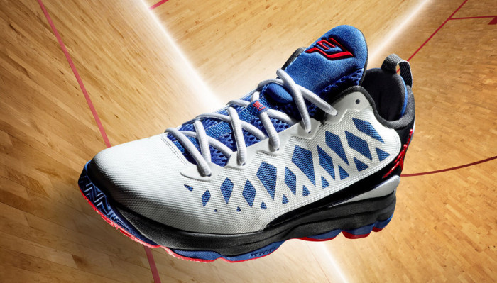 Jordan CP3.VI White Gym Red Black Game Royal