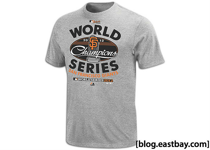 Majestic World Series Champions Clubhouse T-Shirt San Francisco Giants