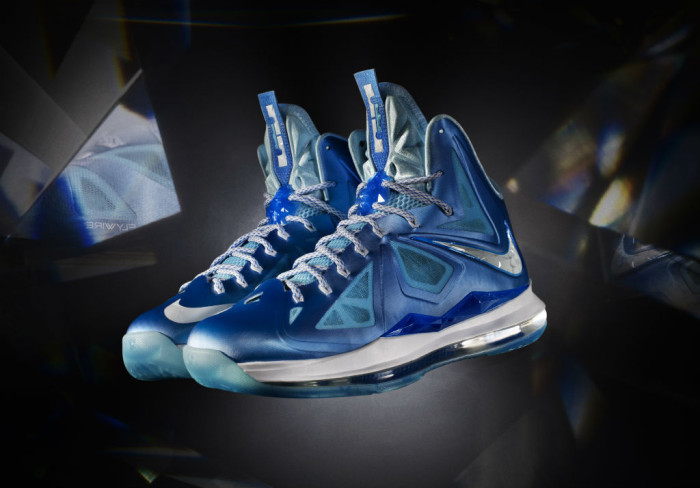 Nike LeBron X Introduced - Blue Diamond (1)