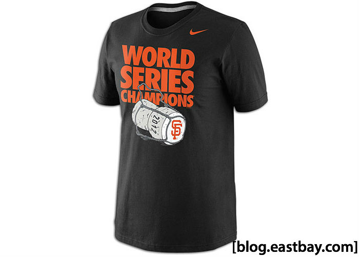 Nike MLB Champagne Celebration T-Shirt San Francisco Giants