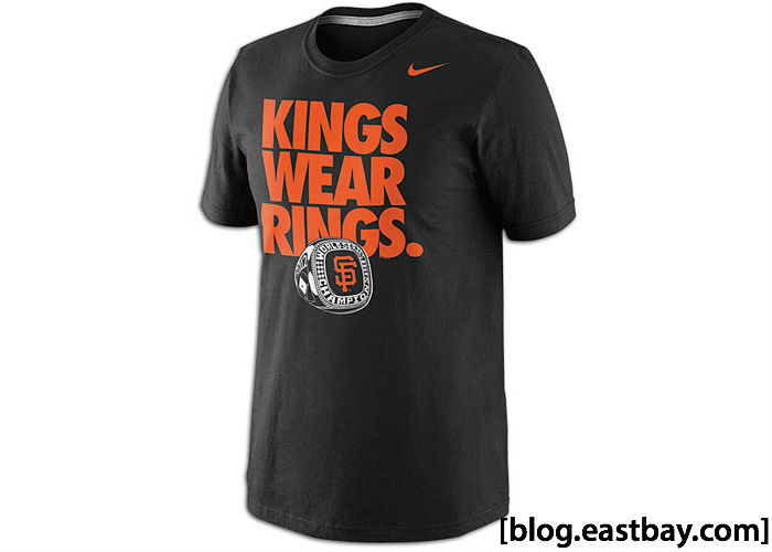 Nike MLB Kings Wear Rings T-Shirt San Francisco Giants