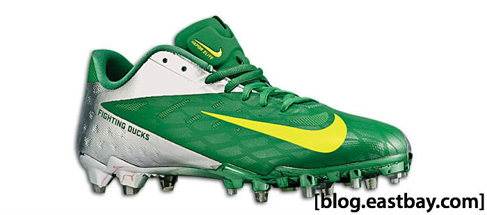 Nike Vapor Talon Elite Low Oregon Might Ducks Kelly Green