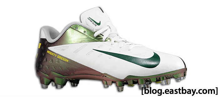 Nike Vapor Talon Elite Low Oregon Might Ducks Noble Green
