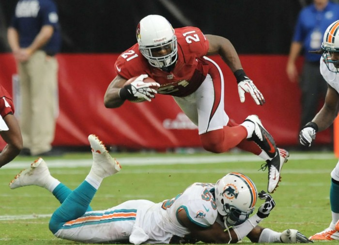 Patrick Peterson wearing Nike Vapor Pro Low TD