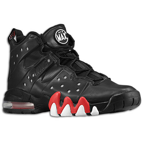 Red And Black Charles Barkley Shoes