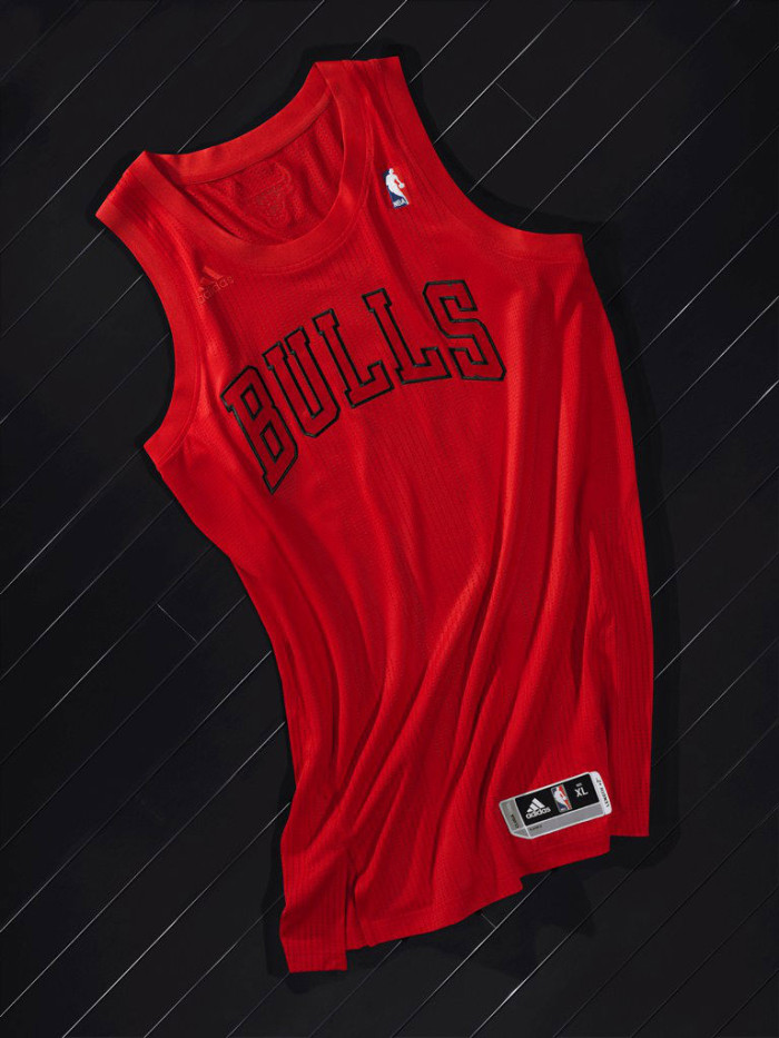 adidas Christmas Day BIG Color Uniforms - Chicago Bulls