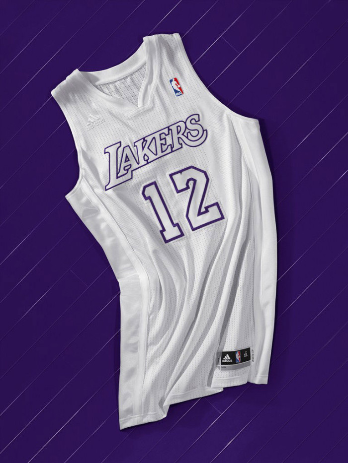 adidas Christmas Day BIG Color Uniforms - Los Angeles Lakers
