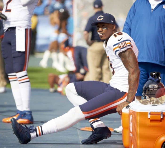 competitive price 7762f 4a8f1 Brandon Marshall wearing Custom Reebok Football Cleats