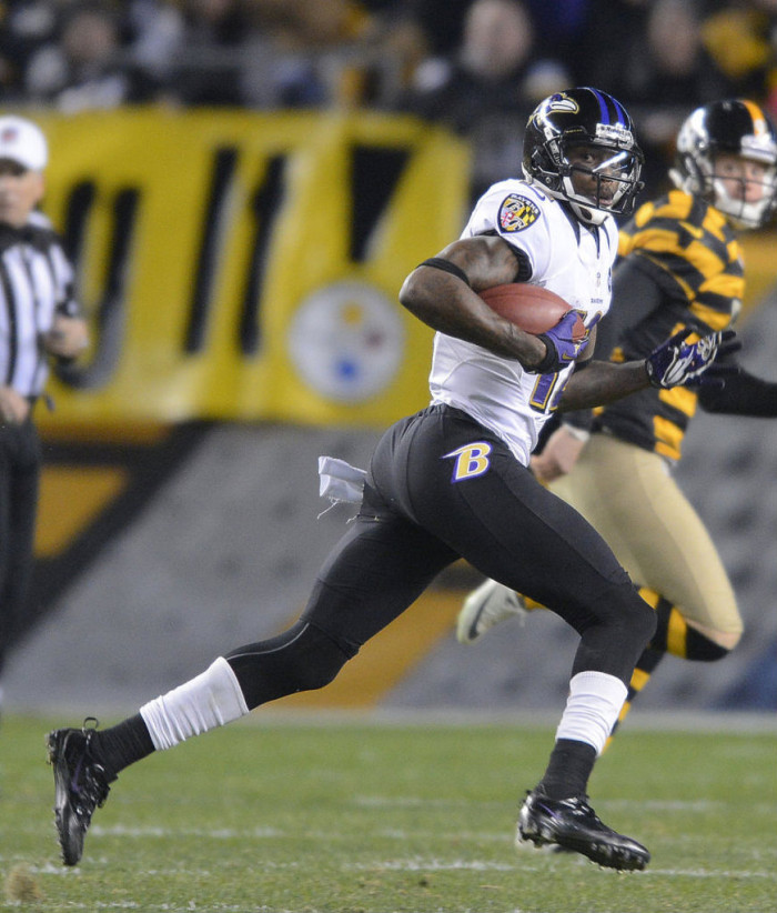 Jacoby Jones wearing Nike Zoom Vapor Carbon Fly
