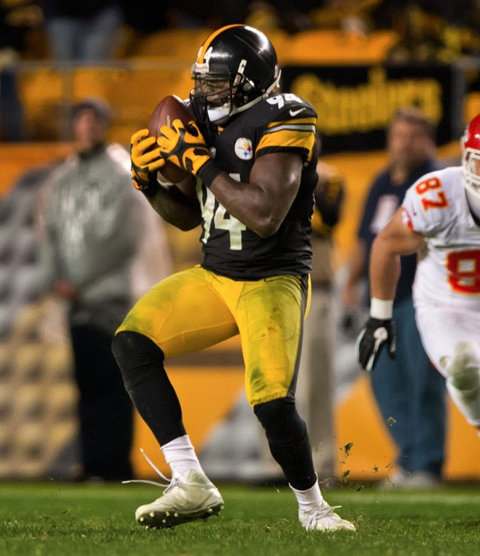 Lawrence Timmons wearing adidas Malice 2
