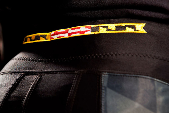 """Maryland's Under Armour """"Black Ops"""" Uniforms (4)"""
