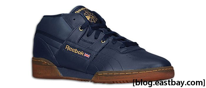Reebok Workout Mid Ice Athletic Navy Brass Ice